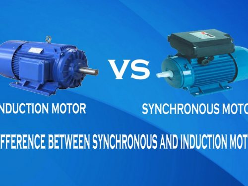 Difference between Synchronous and Induction Motor