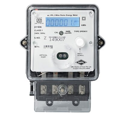 Types of Energy Meter and their working Principles