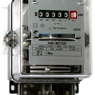 Electromechanical induction type Energy meter and Its working Principle