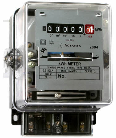 induction type energy meter Single phase energy meter single phase energy meter single phase induction type energy meter is also popularly known as watt-hour meter this name is given to it.